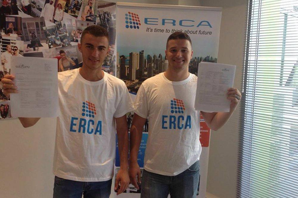 Albi Buzali dhe Florjan Gjergji te punesuarit tane ne Dubai ne  kompanine Etisalat