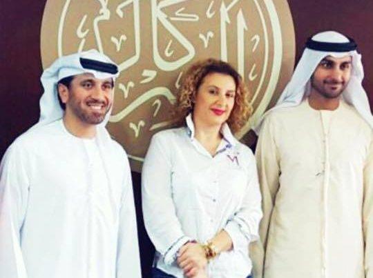 CEO i ERCA me bashkepuntore nga Dubai (Arserkal)