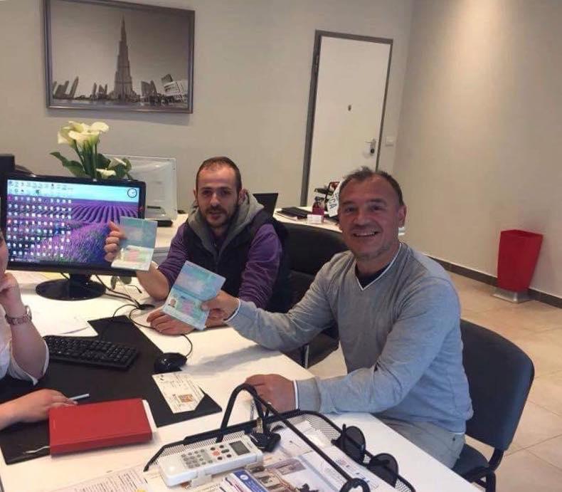 Aleks Tafa dhe Bashkim Oga (ndertim) te punesuar ne Gjermani