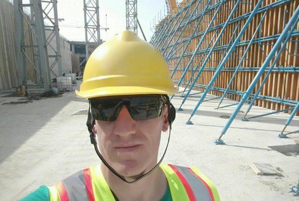 Ariol Gradica Inxhinier ndertimi i punesuar ne Qatar