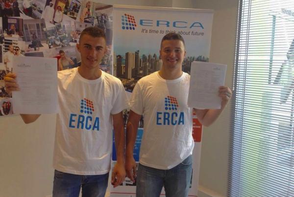 Florian Gjergji dhe Albi Buzali te punesuar ne Dubai
