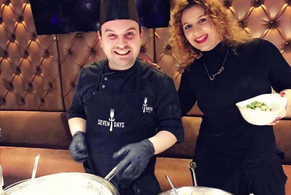 Sajmir Begolli (kuzhinier) i punesuar ne Frankfurt